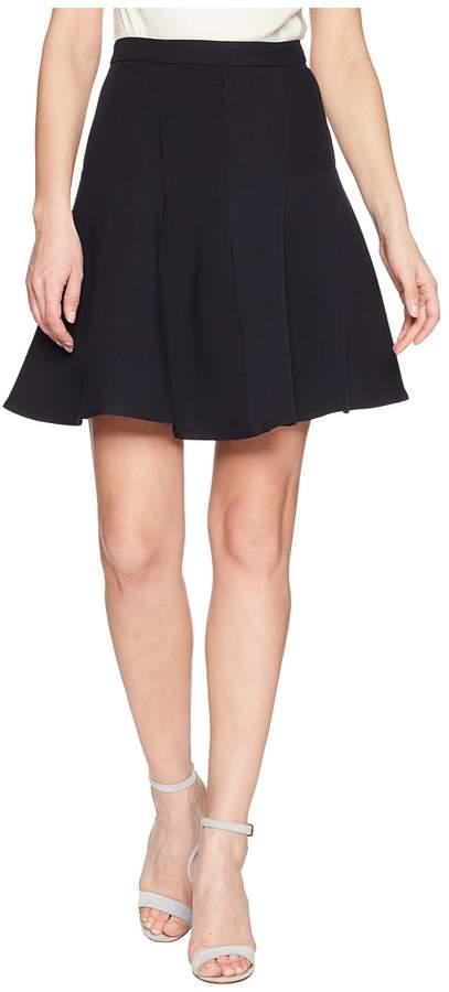 Ellen Tracy Seamed Flare Skirt Women's Skirt