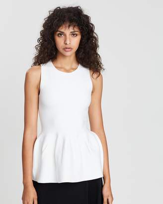 Theory Peplum Shaped Shell