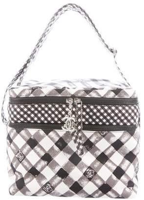 Chanel Printed Canvas Cooler Bag