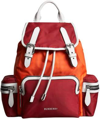 Burberry colour-block Medium Rucksack