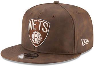 New Era Brooklyn Nets Butter So Soft 9FIFTY Snapback Cap