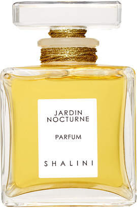 Shalini Jardin Nocturne Cubique Glass Bottle with Glass Stopper sealed with Gold Thread, 1.7 oz./ 50 mL