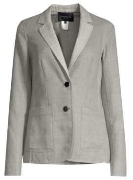Lafayette 148 New York Women's Vangie Jacket - Nickel Melange - Size 10