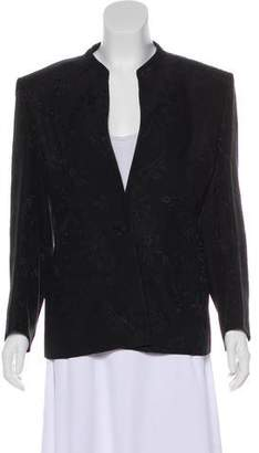 Gianni Versace Structured Brocade Blazer