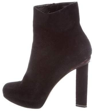 7983e2d12408 Nicholas Kirkwood Black Covered Heel Boots For Women - ShopStyle Canada