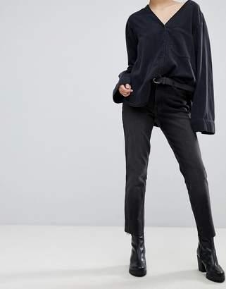 Cheap Monday Cropped Straight Leg Jean