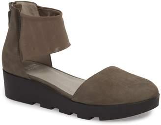 Eileen Fisher Mesh Ankle Strap Sandal