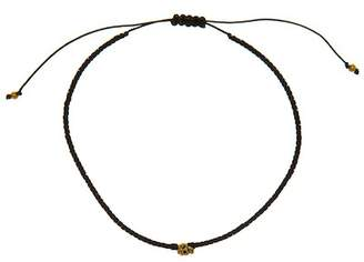 LINK UP Pull Cord Skull Bead Bracelet $50 thestylecure.com