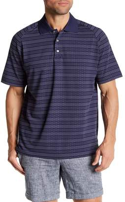 SWC Embossed Moisture Wicking Golf Polo