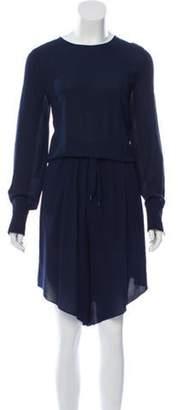Brunello Cucinelli Oversize Silk Romper blue Oversize Silk Romper
