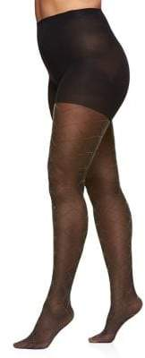 Berkshire Plus The Easy On Diamond Gold Lurex Tights