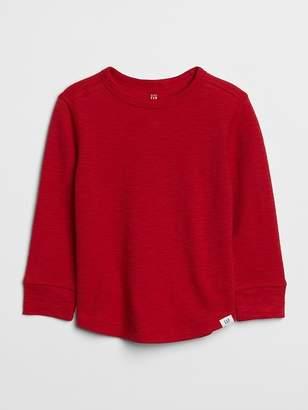 Gap Textured Long Sleeve T-Shirt