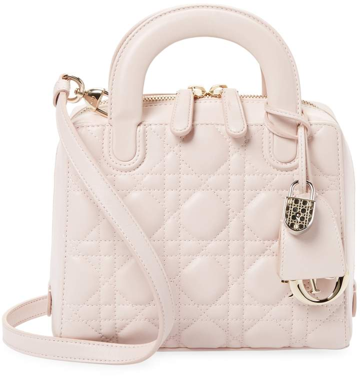 Dior Women's Quilted Leather Structure Bag