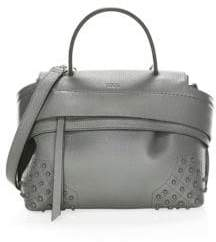 Tod's Mini Wave Gommini Leather Satchel