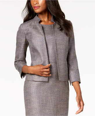 Anne Klein Open-Front Cropped Blazer, Created for Macy's