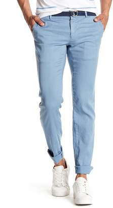 Mason MASONS Linen Blend Stretch Pants