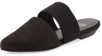 Eileen Fisher Day Two-Piece Pointed-Toe Mule $195 thestylecure.com