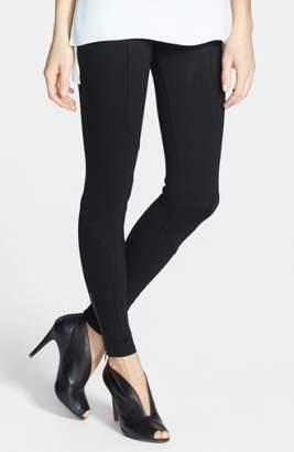 Lysse 'Geo' Ponte Knit Zip Control Top Leggings