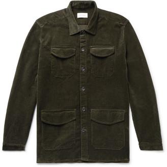 Oliver Spencer Cotton-Blend Corduroy Shirt Jacket