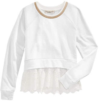 Pink Republic Layered-Look Sweatshirt, Big Girls
