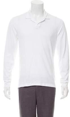 Orlebar Brown Long Sleeve Polo Shirt