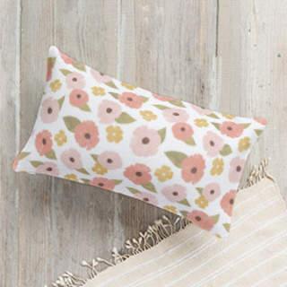 Fine Florals Lumbar Pillow