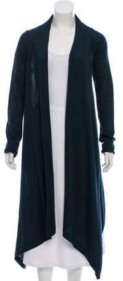 Donna Karan Cashmere & Silk Asymmetrical Cardigan