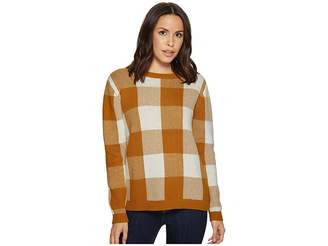 Pendleton Block Plaid Pullover Women's Sweater