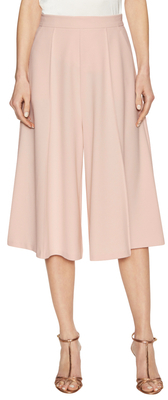 ABS By Allen Schwartz Gaucho Gathered Wide Leg Pant