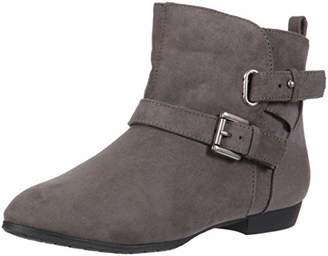 Rampage BIDDY Womens Short Casual Pull On Double Buckle Strap Ankle Boot