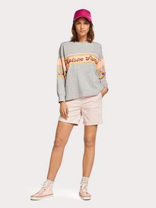 Scotch & Soda Tropical Artwork Sweater