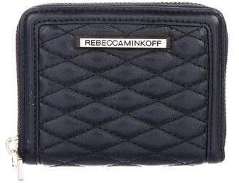 Rebecca Minkoff Quilted Leather Wallet - BLACK - STYLE
