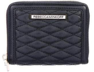 Rebecca Minkoff Quilted Leather Wallet