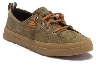 Sperry Crest Vibe Washable Leather Lace-Up Sneaker