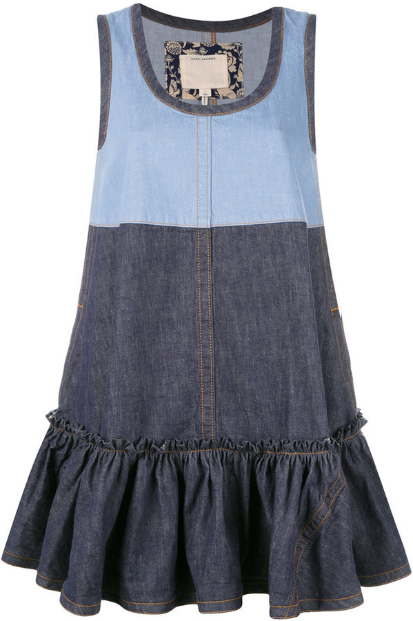 Marc Jacobs Marc Jacobs denim swing dress