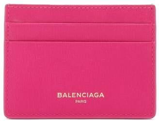 Balenciaga - Essential Leather Cardholder - Womens - Pink