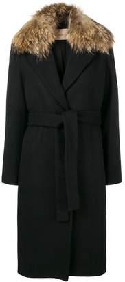 Twin-Set midi belted coat