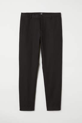 H&M Slim Fit Chinos - Black
