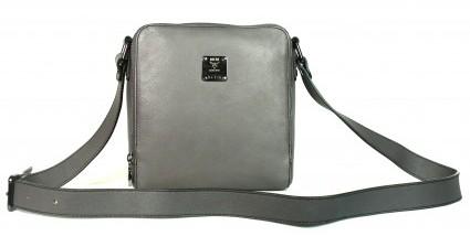 MCM excellent (EX Munchen Grey Leather Tourist Bag
