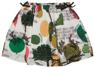 Burberry Garden Print Skirt