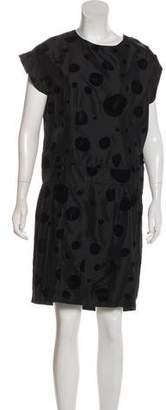 Balenciaga Polka Dot Knee-Length Dress w/ Tags