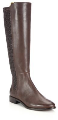 Cole Haan Rockland Leather Knee-High Boots $300 thestylecure.com