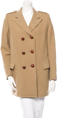 Boy. by Band of Outsiders Double-Breasted Wool Coat $155 thestylecure.com