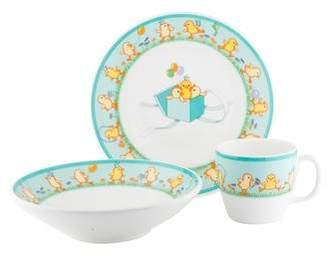 Tiffany & Co. & Co. 3-Piece Chicks Baby Set
