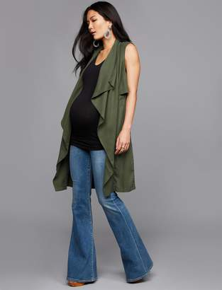 Citizens of Humanity Pea Collection Secret Fit Belly Chloe Super Flare Maternity Jeans
