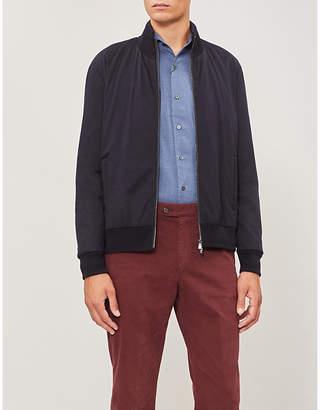 Corneliani Wool bomber jacket