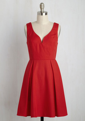 Alythea Beyond Your Wildflower Dreams A-Line Dress in Poppy $64.99 thestylecure.com