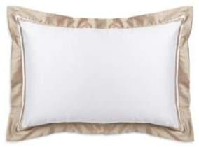 Ralph Lauren Home Stripe-Trimmed Cotton Sham