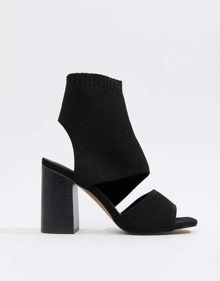 Asos Design DESIGN Teric knitted heeled sandals