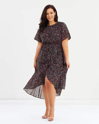 ICONIC EXCLUSIVE - Tatiana Cross Over Dress